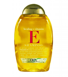 ogx shampoo healing + vitamin e