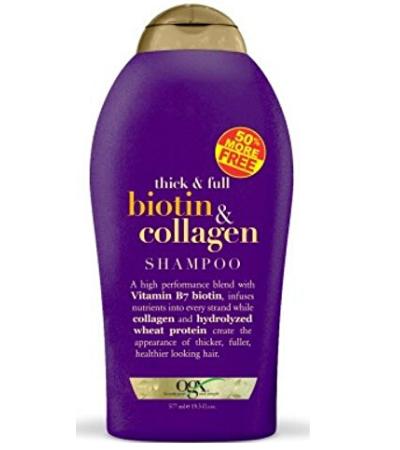 ogx thick & full biotin & collagen shampoo 19.5 oz